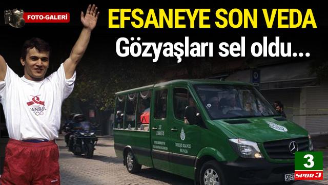 Naim Süleymanoğlu'na veda !