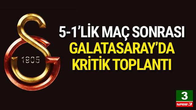 Galatasaray'da kritik toplantı !