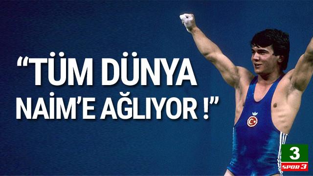Naim'in antrenörü: Tüm dünya ağlıyor !