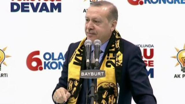 Cumhurbaşkanı Erdoğan: ''Hedef Türkiye'dir''