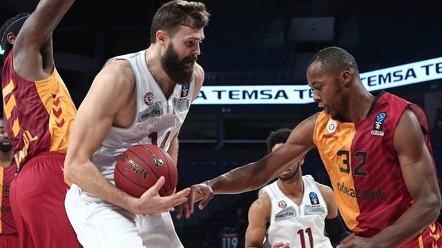 Galatasaray Odeabank Avrupa'da kayıp !