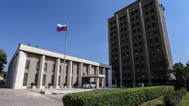 Rus Büyükelçiliği'ne havan saldırısı !