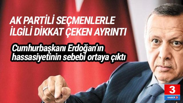 AK Parti'nin seçim anketinde dikkat çeken ayrıntı