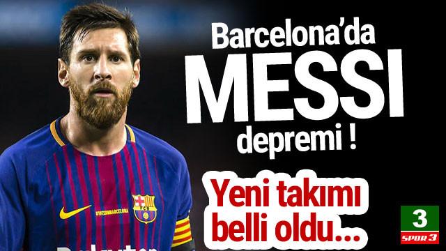 Messi, İngiliz devine gidiyor !