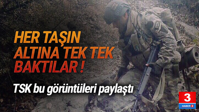 Şırnak'tan çarpıcı fotoğraflar Jandarma paylaştı