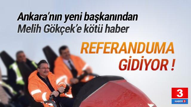 Ankara'da Melih Gökçek'i üzecek bir karar daha
