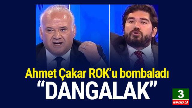Ahmet Çakar'dan Kütahyalı'ya: ''Dangalak, Zevzek''