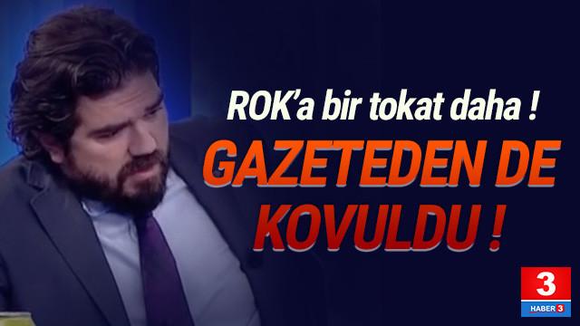 Rasim Ozan Kütahyalı, Sabah gazetesinden de kovuldu
