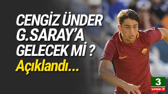 Cengiz Ünder Galatasaray'a gelecek mi ?