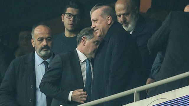 Cumhurbaşkanı Erdoğan Vodafone Park'ta !