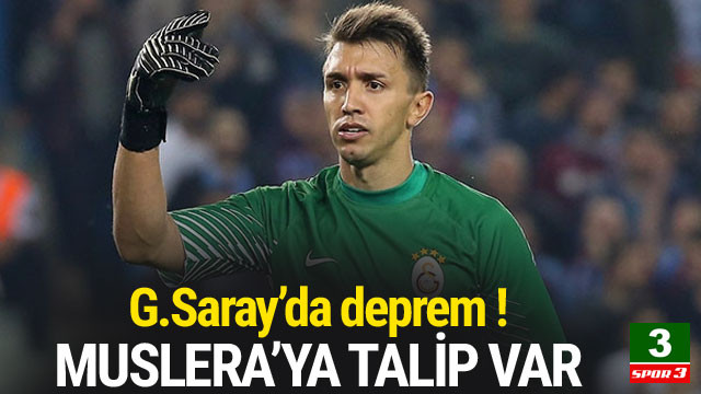 Galatasaray'da Muslera depremi !