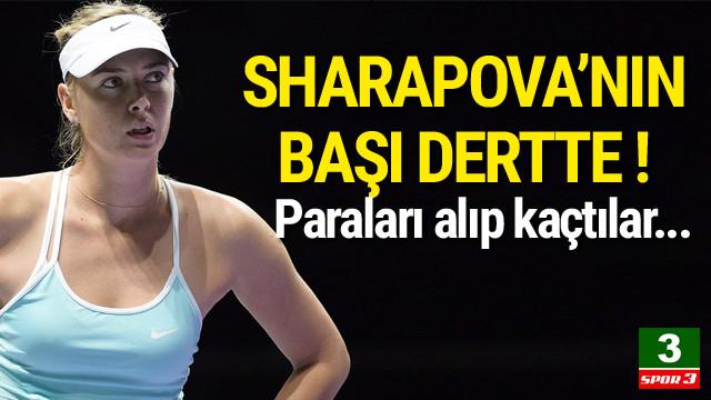Sharapova'nın başı büyük dertte