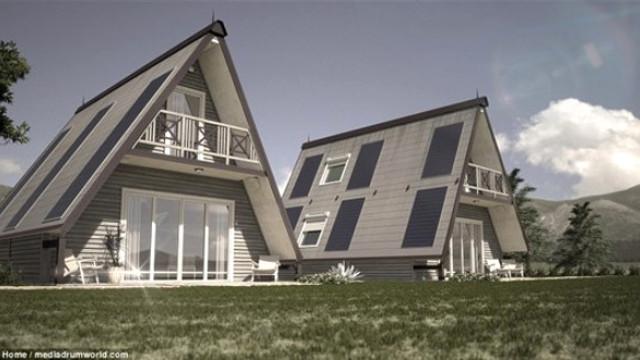 6 saatte inşa edilen evin fiyatı şaşırtıyor