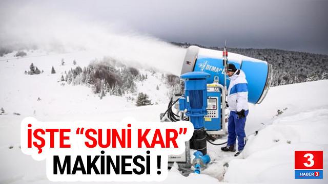 Uludağ'a ''suni kar'' desteği