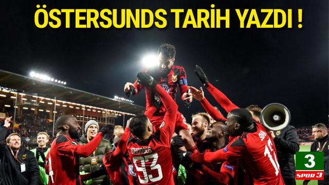 Östersunds tarih yazdı !
