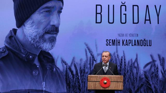 ''Buğday'' filminin galası Beştepe'de yapıldı