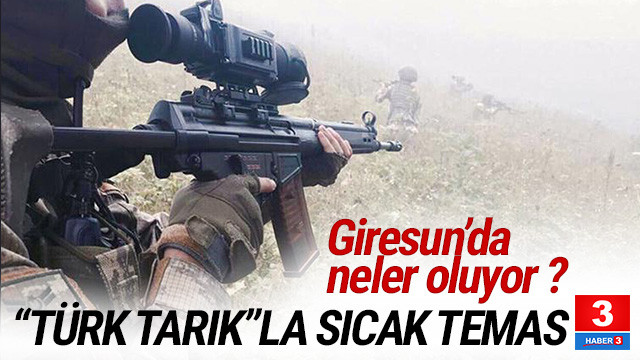 Giresun'da neler oluyor ? PKK'lı teröristlerle çatışma çıktı