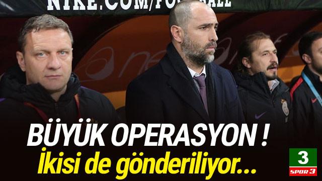 Galatasaray ikisini birden gönderiyor !