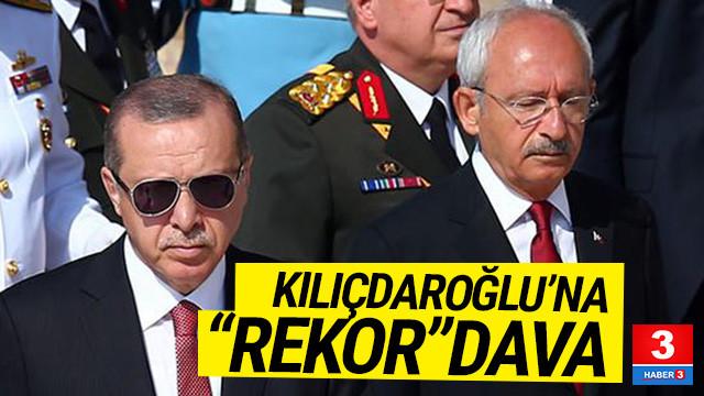 Erdoğan'dan Kılıçdaroğlu'na 1.5 milyonluk dava