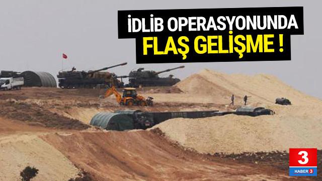 TSK'dan açıklama geldi ! İdlib'de flaş gelişme