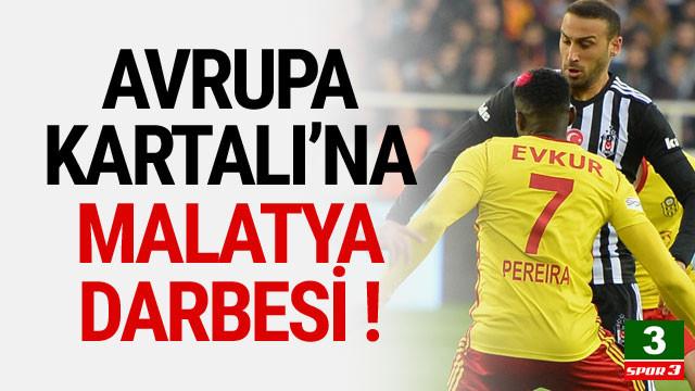 Beşiktaş, Malatyaspor'a takıldı !