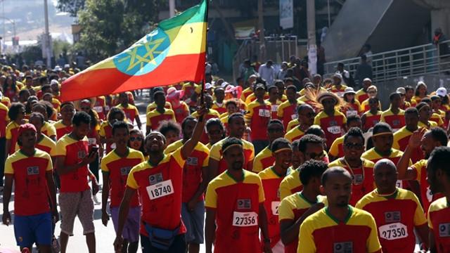Etiyopya Koşusu'na yoğun ilgi
