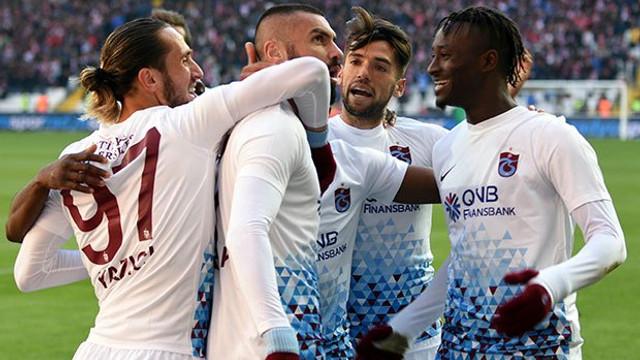 Sivasspor - Trabzonspor: 1-2