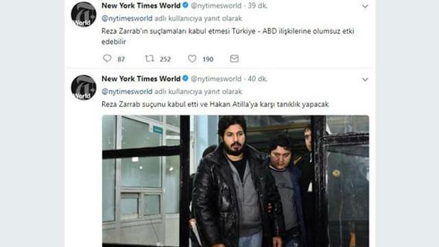 New York Times'ın Türkçe mesajı olay oldu