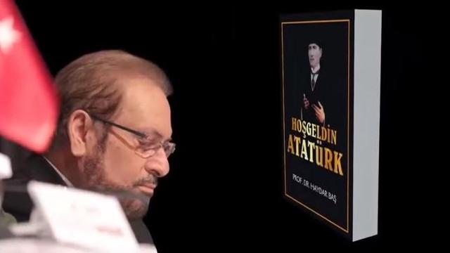 Haydar Baş'tan Hoşgeldin Atatürk kitabı
