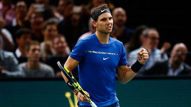 Nadal, Paris'te çeyrek finalde