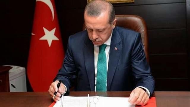 Erdoğan, 6 üniversiteye rektör atadı ! İşte o isimler