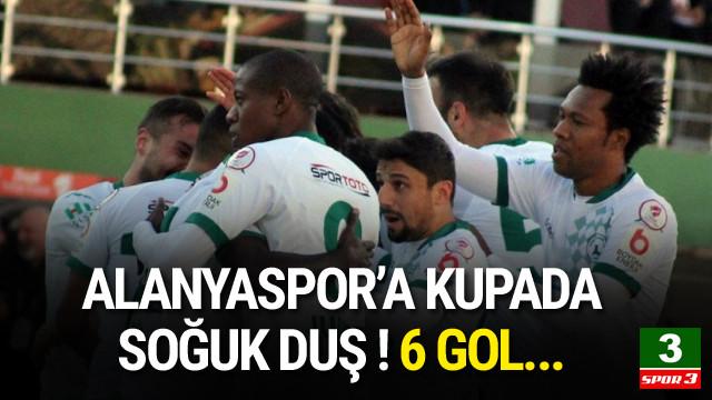 Alanyaspor'a kupada büyük şok !