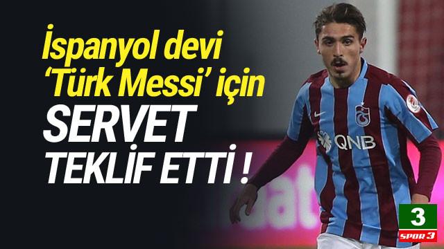 Trabzonspor'un 'Messi'sine 25 milyon TL'lik teklif