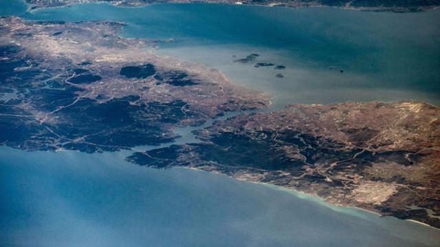 NASA astronotu İstanbul'u uzaydan görüntüledi
