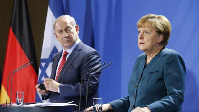 Almanlar İsrail'e sahip çıktı
