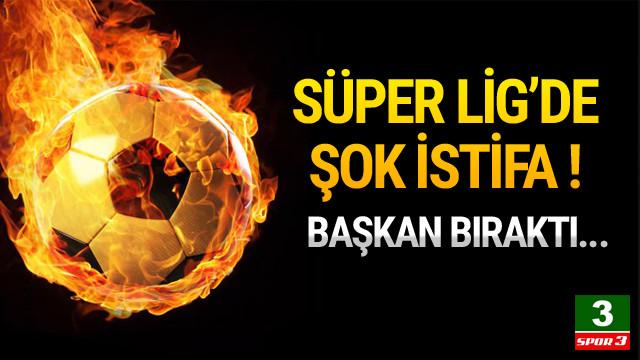 Antalyaspor Başkanı istifa etti !