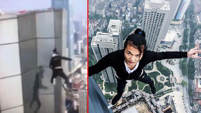 62'inci kattan düşen gencin videosu çıktı !
