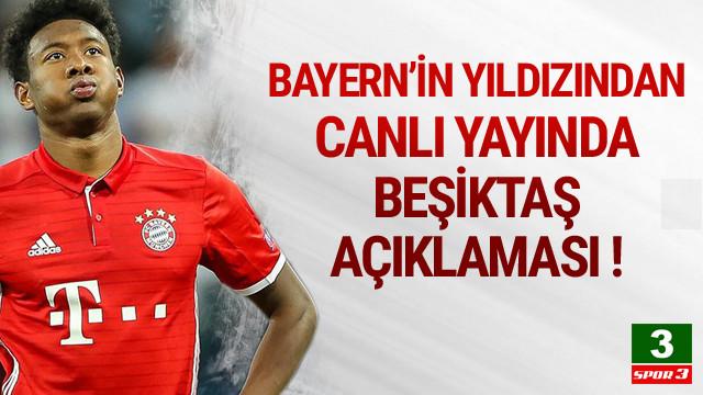 David Alaba'dan Beşiktaş açıklaması