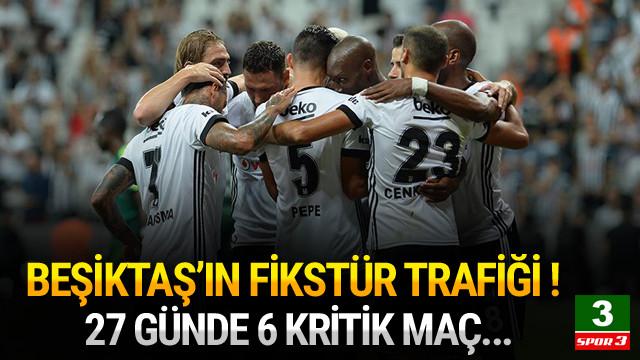 Beşiktaş'ın fikstür trafiği ! 27 günde 6 kritik maç !