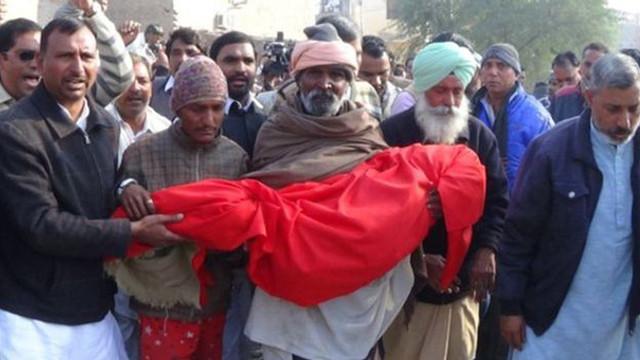 Hindistan'da olay yaratan cinayet