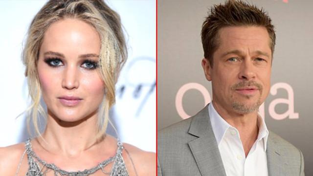 Jennifer Lawrence, Brad Pitt ile aşk yaşıyor