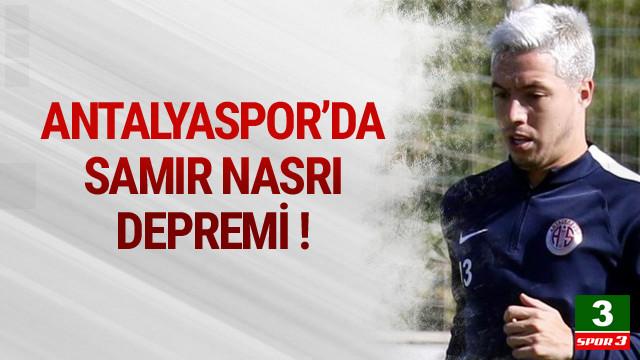 Antalyaspor'da Samir Nasri şoku !