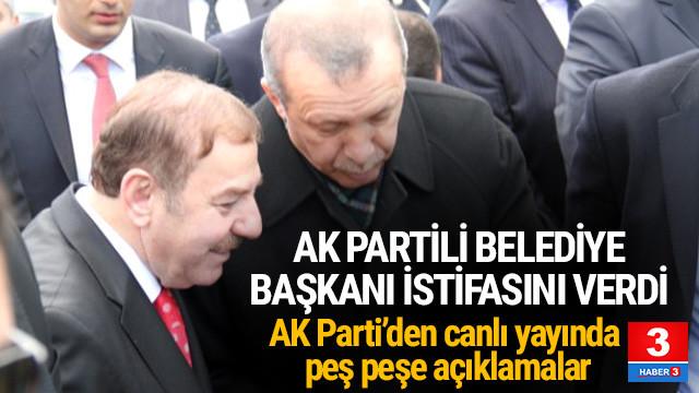 İstanbul'da istifa bombası ! AK Partili Belediye başkanı istifa etti !