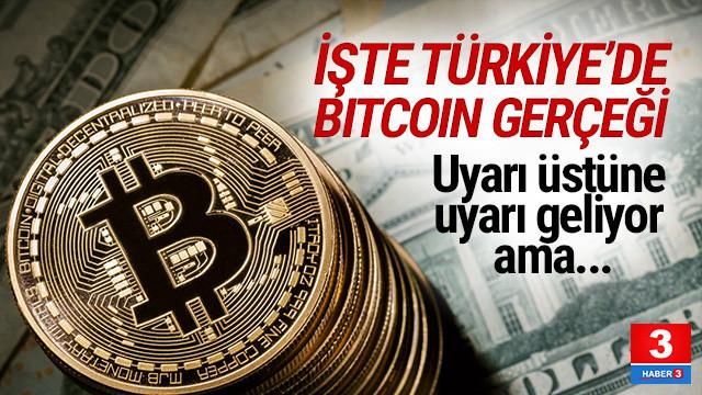 İşte Türkiye'de Bitcoin gerçeği