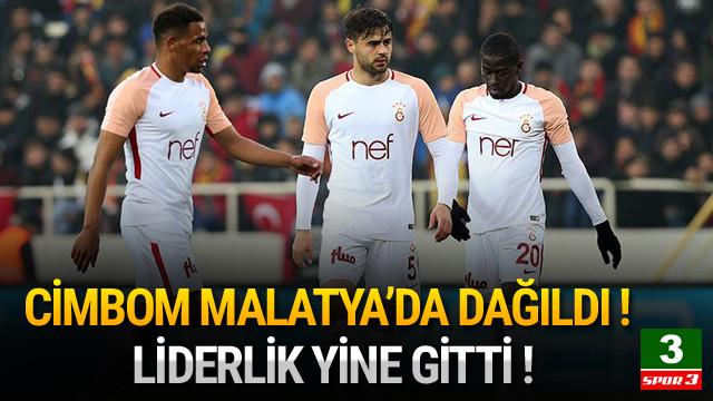 Galatasaray Malatya'da dağıldı !