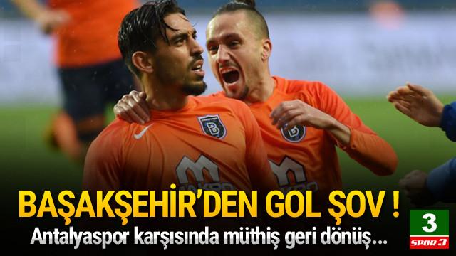 Başakşehir'den gol şov !
