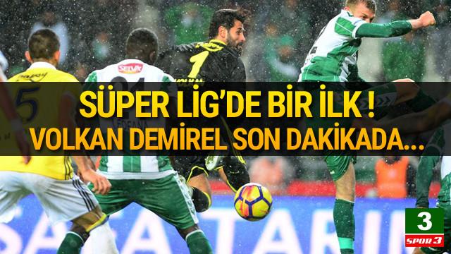Süper Lig'de ilk şut girişimi Volkan'dan !