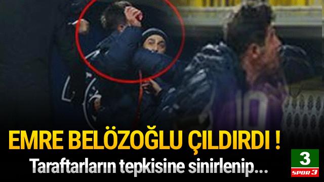 Emre Belözoğlu çılgına döndü !