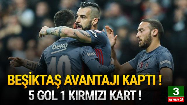 Beşiktaş çeyrek finale göz kırptı