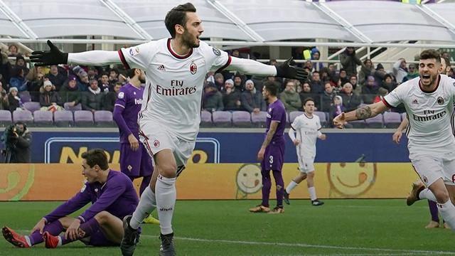 Hakan Çalhanoğlu Milan'ı kurtardı !